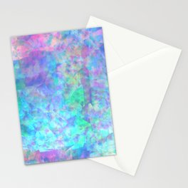 opal skies Stationery Cards