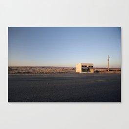 Donald Judd, Marfa TX Canvas Print