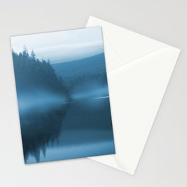 Blue Mist at Langsett Reservoir  Stationery Cards