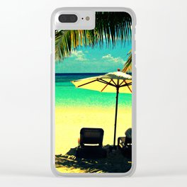 Perfect Day Clear iPhone Case