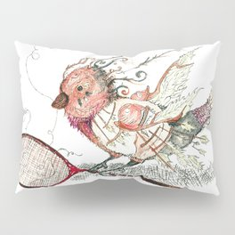 The Wild Badminton Birdie Pillow Sham