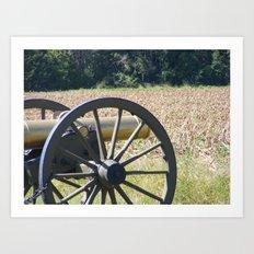 Corn Field or Battlefield Art Print