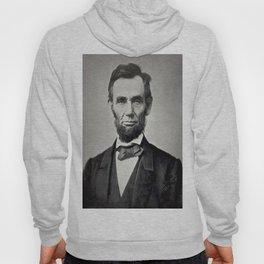Portrait of Abraham Lincoln by Alexander Gardner Hoody