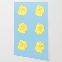 a yellow rose Wallpaper