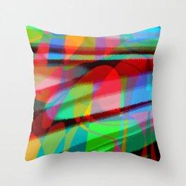 big sonic Throw Pillow