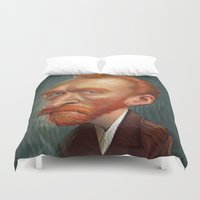van Duvet Covers featuring van  by helpius