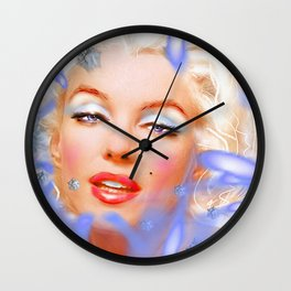 Marilyn M. Wall Clock