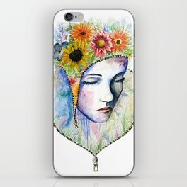 Flowers in my Mind iPhone Skin