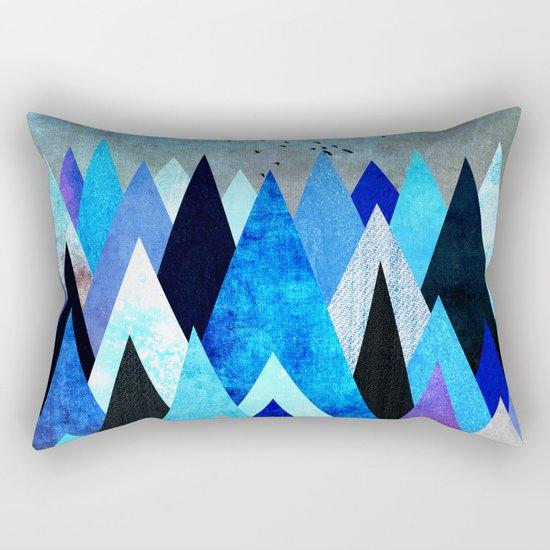 Blue Nature XXV Rectangular Pillow