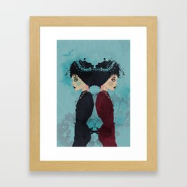Gemini Framed Art Print