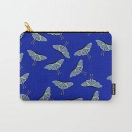 Lunar Moths Blue Carry-All Pouch