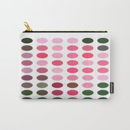 Pink Roses in Anzures 2 Dots Carry-All Pouch