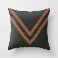 falcon Throw Pillows featuring Falcon by PAAC design