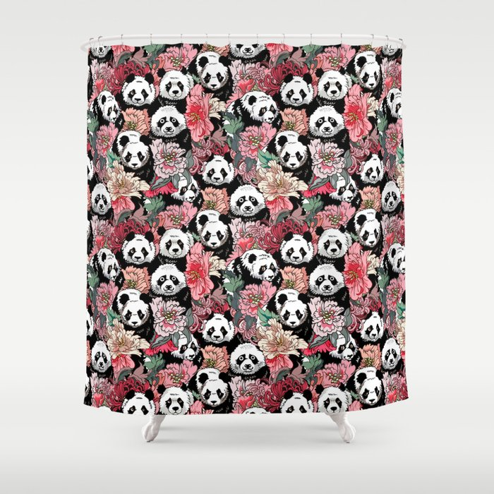 Because Panda Shower Curtain