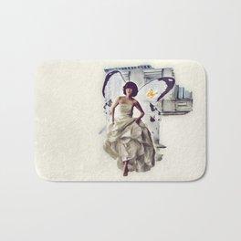Butterfly Bride Bath Mat