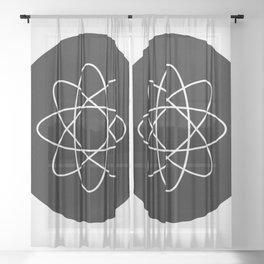 Name That Atom Sheer Curtain