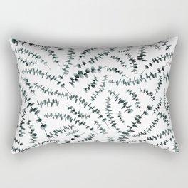 Eucalyptus branch /Agat/ Rectangular Pillow