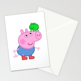Daddy Pig Mummy Funny Stationery Cards