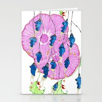 hibiscus Stationery Cards featuring Hibiscus by Gosia&Helena
