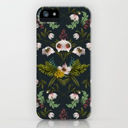 Helleborus Dark iPhone Case