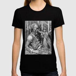Don Quixote graphic | Quijote by Cervantes - Fine Art prints T-shirt