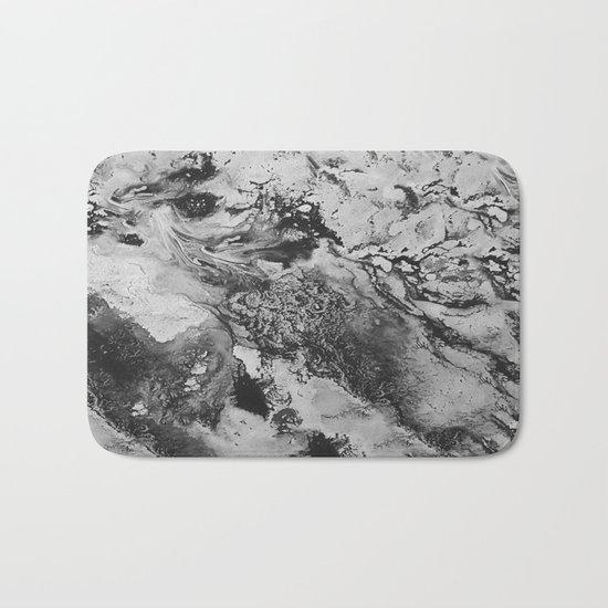 White: Paint Bath Mat