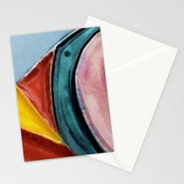The Kandinsky's Chubby Bird 2 Stationery Cards