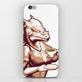 Stigimoloch tea time iPhone Skin