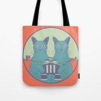 gemini Tote Bags featuring gemini by Gray