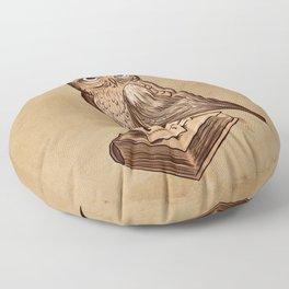 Wise Old Owl Floor Pillow