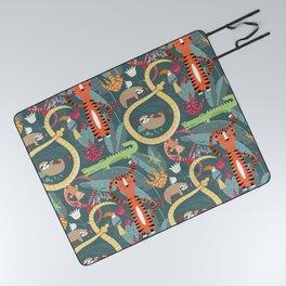 Rain forest animals 003 Picnic Blanket