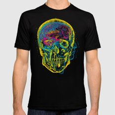 Anatomy Skull Black 2X-LARGE Mens Fitted Tee