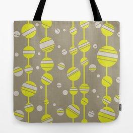 yellow circles Tote Bag