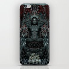 Triptych: Shakti - Black Goddess iPhone & iPod Skin