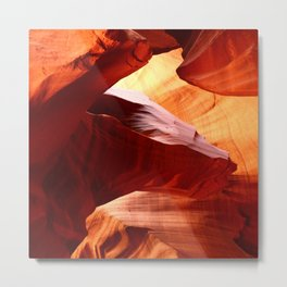A Symphony In Sandstone Metal Print