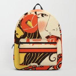 Orange Blossom Geisha Backpack