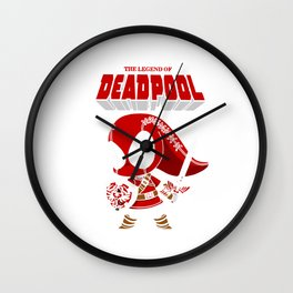 The Lagend Of Dead pool Wall Clock