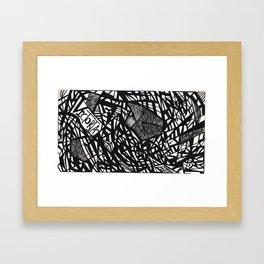 Victoria Series #3 Framed Art Print