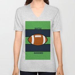 Seahawks Fans, Seattle Football Unisex V-Neck