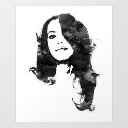 Baby Girl Art Print