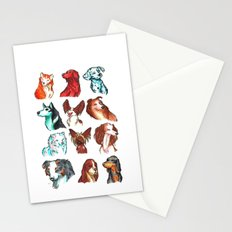Brush Breeds Compilation Stationery Cards