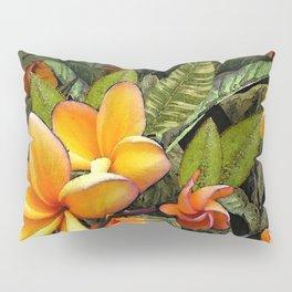 Hawaiian Plumeria at First Light Pillow Sham