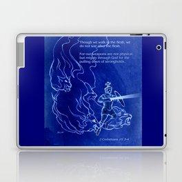 Warrior 3 With Heavenly Host Laptop & iPad Skin
