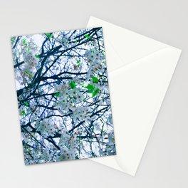 Cherry Blossom (Blue) Stationery Cards