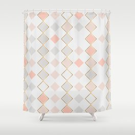 Pattern Rose Shower Curtain