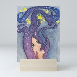 Galaxy Dreamer Mini Art Print