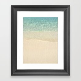 Beach Please! Framed Art Print