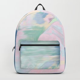 pink and blue Sarah Hayes Backpack