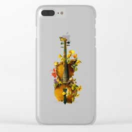 Undying Symphony Clear iPhone Case