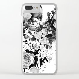 Exploded Frailty Clear iPhone Case